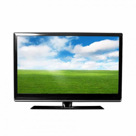 Television isolated on white background