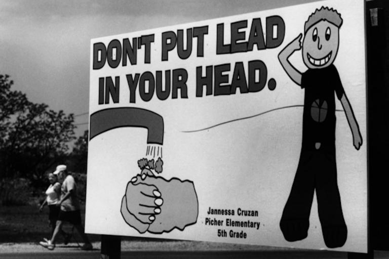 Billboard: Don't Put Lead In Your Head