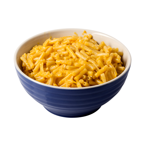 Bowl of macaroni and cheese